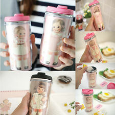 Afrocat Paper Doll Mate Stainless Tumbler Beverage Tea Coffee Containers Mug Cup