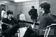 THE BEATLES Paul McCartney John Lennon BACKSTAGE 1966 LIMITED EDITION Photograph