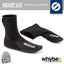 002432 SPARCO KART BOOT COVERS (HIGH) NEOPRENE OVERSHOES FOR WET WEATHER RACING