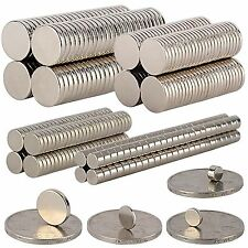 25/50/100pcs N35 Round Disc Magnet Super Strong Rare Earth Magnets Neodymium