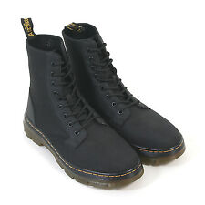 Dr Martens Men's Tract Combs Fold-Down Nylon Lace-Up Boot Black