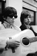 MICK JAGGER Rolling Stones KEITH RICHARDS 1965 LIMITED EDITION PHOTOGRAPH Train