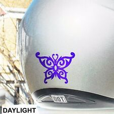 Hyper Reflective Tribal Butterfly Decal Motorcycle Helmet Safety Sticker #031