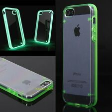 Glow In The Dark Luminous Fluorescence Hard Back Cover Case For iPhone 4G 5S 5C