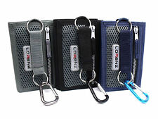 UNISEX TRIFOLD VELCRO SPORTS WALLET CREDIT CARD HOLDER COIN POUCH 8002