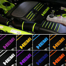 Dodge Challenger R/T 5.7L V8 Hemi Engine Dress Up Kit Decal Graphics 2009-2015