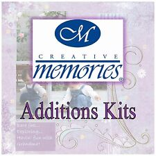 CREATIVE MEMORIES ADDITIONS KITS--TAKE YOUR PICK! (NLA)