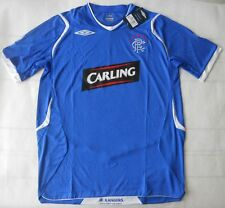 Umbro 2008-09 Official Glasgow Rangers Home Soccer Jersey