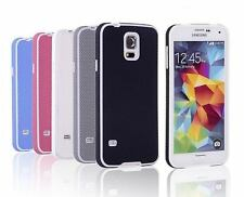 Luxury Shockproof Hybrid Rubber Hard Case Cover For Samsung Galaxy S5 SV i9600