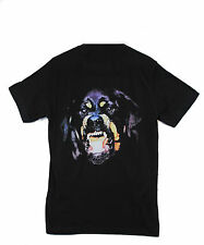 Actual Fact Rottweiler Snarl Hip Hop Black Crew Neck Tee T-shirt