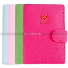 Bowknot Crown Buckles E-Passport Protect Cover Passport Case 4 Colors For You
