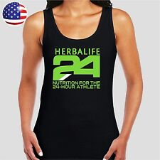 HERBALIFE WOMEN'S LADIE'S TANK SHIRTS,M,L,XL,2XL,3XL GREEN FREE BACK LOGO *NEW*
