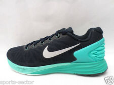 Nike Lunarglide 6 Womens Running Trainers Shoes Dark Obsidian/Turquoise