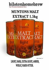 Muntons Ingredients Assorted Malt Extract For HomeBrewing