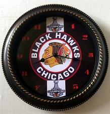 CHICAGO BLACKHAWKS 2015 STANLEY CUP CHAMPION WALL CLOCK