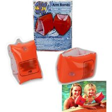 Swimming Pool Kids Childrens Baby Safety Float Armbands Inflatable Arm Bands