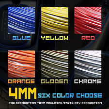 4MM FLEXIBLE TRIM FOR CAR INTERIOR EXTERIOR MOULDING STRIP DECORATIVE LINE