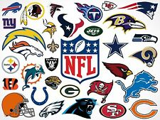 Assorted NFL Team ACA Regulation Size Weight Duck Cloth Bags Cornhole Baggo