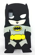 3D cartoon Hero Batman Soft Silicone Case Cover For VARIOUS Mobile Phones