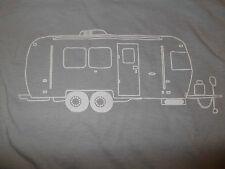 Long Sleeve Vintage AIRSTREAM CAMPER T SHIRT NWT. The trailer life, is good. LS