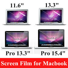 "Clear Film Guard Screen Protector for Macbook Air11.6"" Pro Retina13.3""15.4"" Lot"