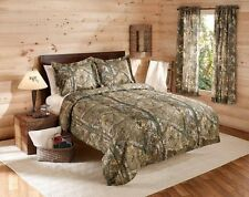 Camouflage Realtree Bedding Comforter Set w/ SHAMS Camo Twin Full Queen King
