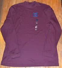 Croft & Barrow Mockneck Long Sleeve Top Size XL or XXL New With Tags $24.00
