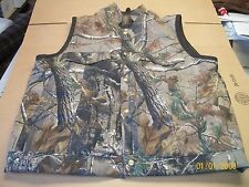 Real Tree Camo Vest with Leather Accents - MADE IN THE USA  #1