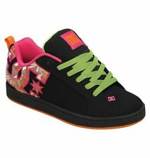 DC Shoes Women's Court Graffik SE Shoes - Black (KMI)