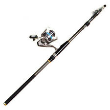 Carbon Telescopic Spinning Casting Pole 5.4M Saltwater Sea Fishing rods Portable