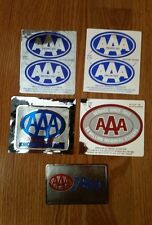 Vintage AAA American Automobile Association Stickers
