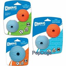 Chuckit! WHISTLER BALL Durable Rubber Fetch Dog Toy Fits Launcher
