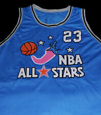 CUSTOM NAME & # MICHAEL JORDAN ALL STAR - SPACE JAM JERSEY  NEW SEWN ANY SIZE