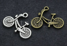 Wholesale 30/150pcs Tibetan Silver bicycle Alloy Jewelry Charms Pendant 26x19mm
