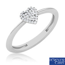 0.12Ct Real Diamond Studded Wedding Ring 100% Certified 14K Hallmarked Gold Ring