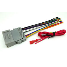 GM TOYOTA CAR STEREO CD PLAYER WIRING HARNESS WIRE AFTERMARKET RADIO INSTALL