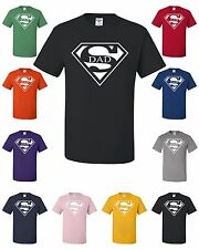 Super Dad Funny T-Shirt Father Birthday Gift Dad Husband Super Hero Tee Shirt