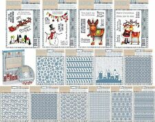 CRAFTERS COMPANION NORDIC CHRISTMAS STAMPS EMBOSSING FOLDERS PAPERCRAFTING CDROM