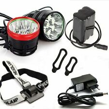 8000Lumens   XM-L 8xT6 LED Bike Bicycle Light  Headlight Lamp+Battery+Charger