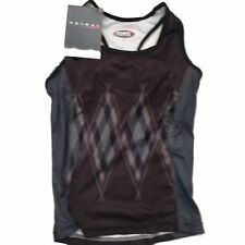 ARGYLE BLACK - OFFICIAL WOMENS CYCLING JERSEY (VEST)