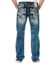 NEW Buckle Rock Revival Mid Rise Earl Straight Stretch Jean 32,36,38,44 SAVE BIG