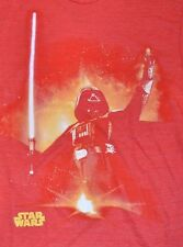 Star Wars Darth Vader Force Light Saber Sword Adult T-Shirt Officially Licensed