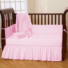 2pc Baby Crib sheet set Fitted Pillowcase Select Color