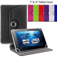 "Tablet Case Cover iPad Mini Tab Universal 360° Rotate Stand 7"" 7.7"" 7.9"" & 8"""