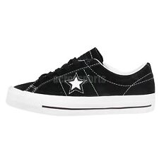 Converse One Star Pro Black Suede White Lunarlon Skateboarding Shoes Sneakers