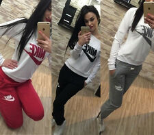 Women's New Fashion Sports Crop Top Pants Leisure Athletic Apparel suit Bodysuit