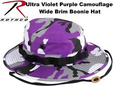 Ultra Violet Camouflage Military Police Tactical Bucket Boonie Hat 5348
