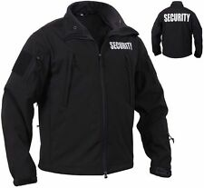 Tactical soft shell security guard Jacket law enforcement coat 97670