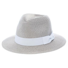 New Mooloola Bruna Fedora in Grey | headwear Womens Headwear Womens Hats