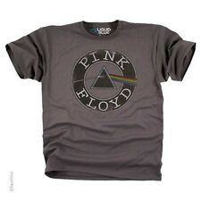 Pink Floyd Round & Round Rock Music GREY T-Shirt (Licensed) - Adult Size NEW